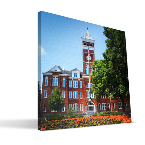 Clemson Tigers Tillman Hall Canvas Print