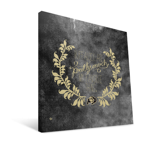 Colorado Buffaloes Favorite Thing Canvas Print