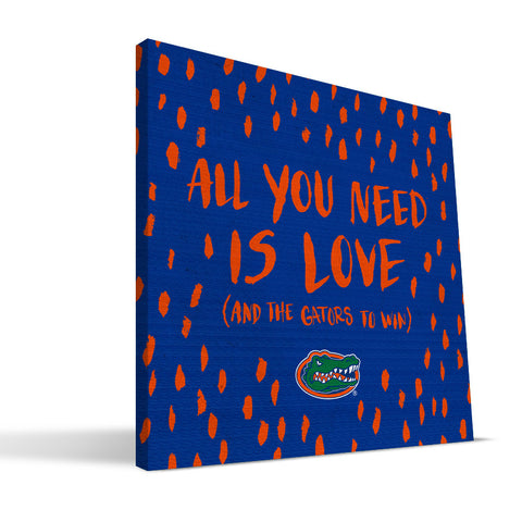 Florida Gators All You Need Canvas Print