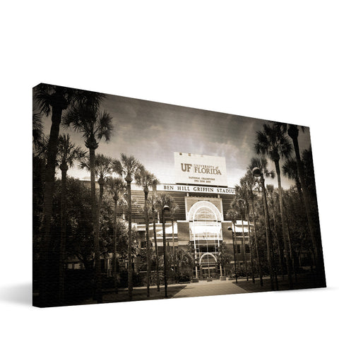Florida Gators Ben Hall Griffin Stadium Canvas Print