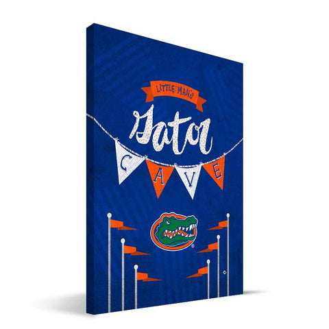 Florida Gators Little Man Canvas Print