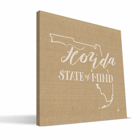 Florida State of Mind Canvas Print