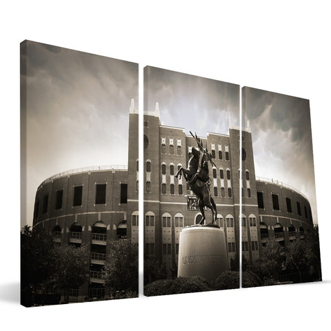 Florida State Seminoles Doak Campbell Stadium Canvas Print