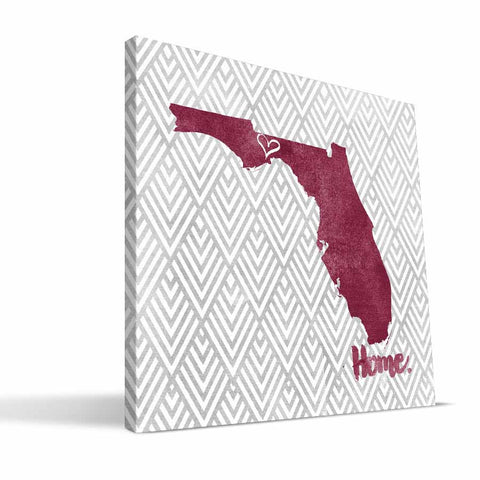 Florida State Seminoles Home Canvas Print