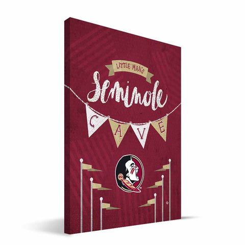 Florida State Seminoles Little Man Canvas Print