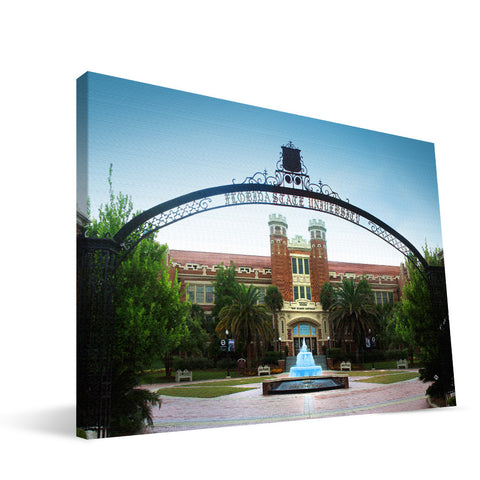 Florida State Seminoles Westcott Building Canvas Print