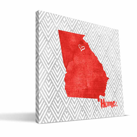 Georgia Bulldogs Home Canvas Print