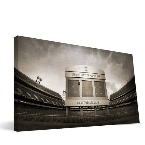 Georgia Bulldogs Sanford Stadium Canvas Print
