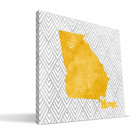Georgia Tech Yellow Jackets Home Canvas Print