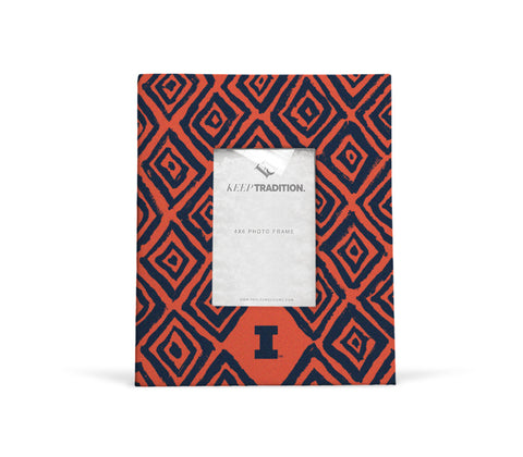 Illinois Fighting Illini Diamond Picture Frame