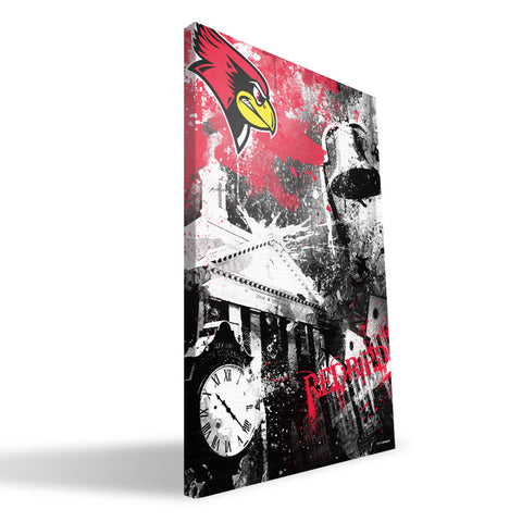 Illinois State Redbirds Spirit Canvas Print