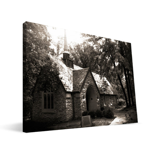 Indiana Hoosiers Beck Chapel Canvas Print