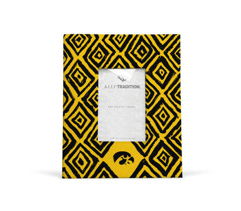 Iowa Hawkeyes Diamond Picture Frame
