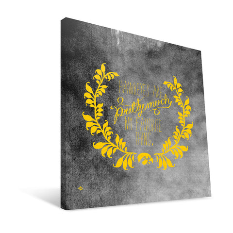 Iowa Hawkeyes Favorite Thing Canvas Print