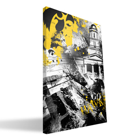 Iowa Hawkeyes Spirit Canvas Print