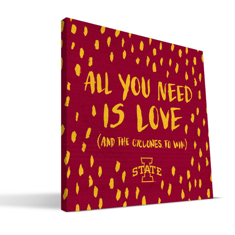 Iowa State Cyclones All You Need Canvas Print