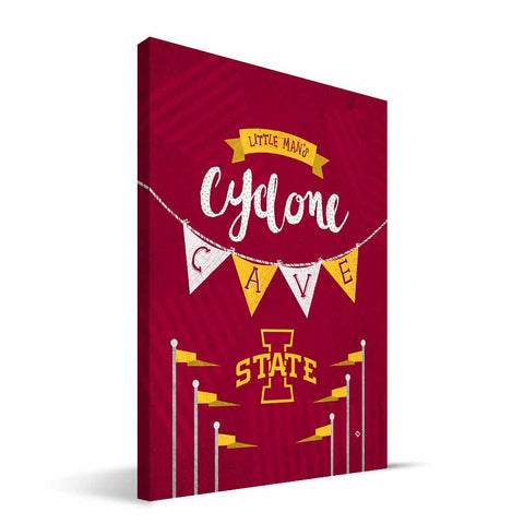 Iowa State Cyclones Little Man Canvas Print
