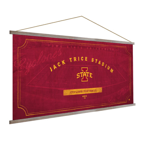 Iowa State Cyclones Stadium Banner