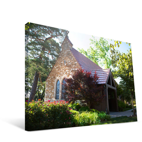Kansas Jayhawks Danforth Chapel Canvas Print