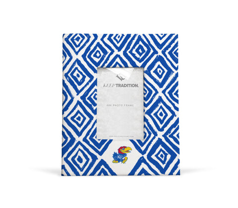 Kansas Jayhawks Diamond Picture Frame