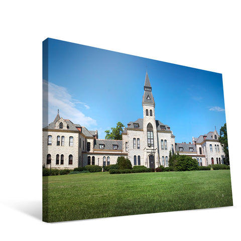 Kansas State Wildcats Anderson Hall Canvas Print