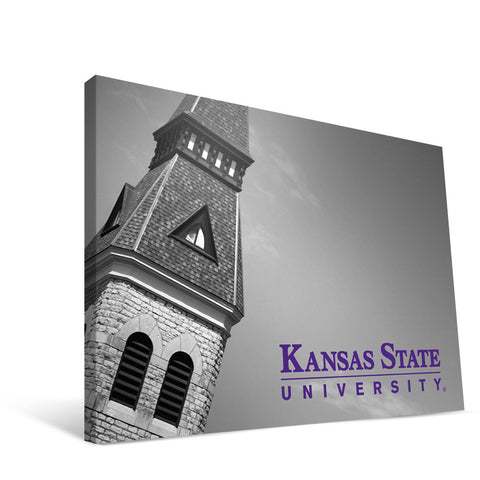 Kansas State Wildcats Anderson Steeple Canvas Print