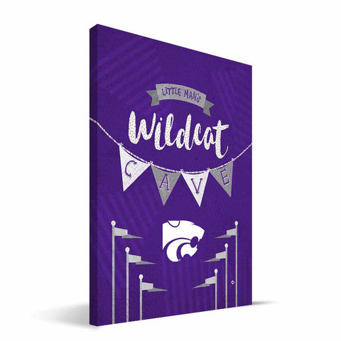 Kansas State Wildcats Little Man Canvas Print