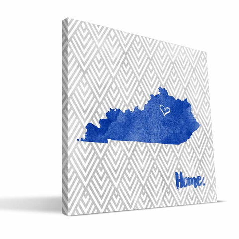 Kentucky Wildcats Home Canvas Print