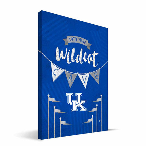 Kentucky Wildcats Little Man Canvas Print