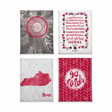 Louisville Cardinals Magnet Set