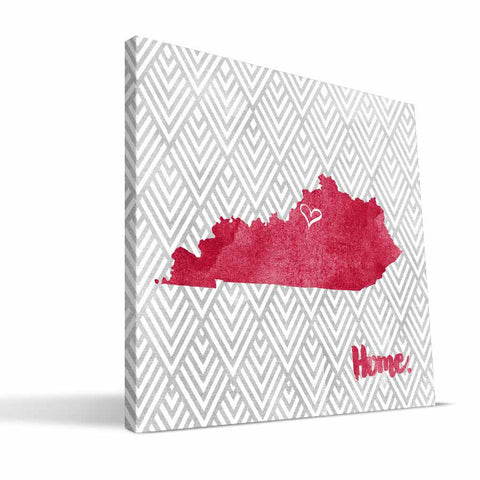 Louisville Cardinals Home Canvas Print