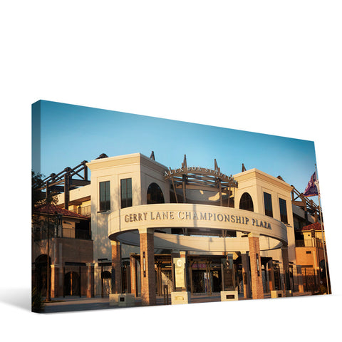 LSU Tigers Alex Box Stadium Canvas Print