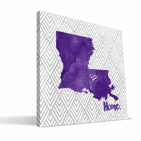 LSU Tigers Home Canvas Print