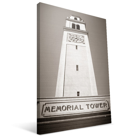 LSU Tigers Memorial Tower Canvas Print