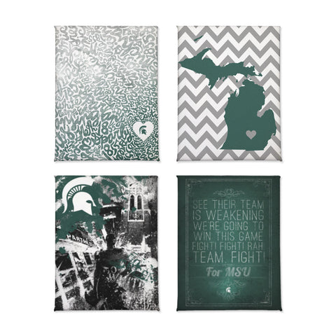 Michigan State Spartans Magnet Set