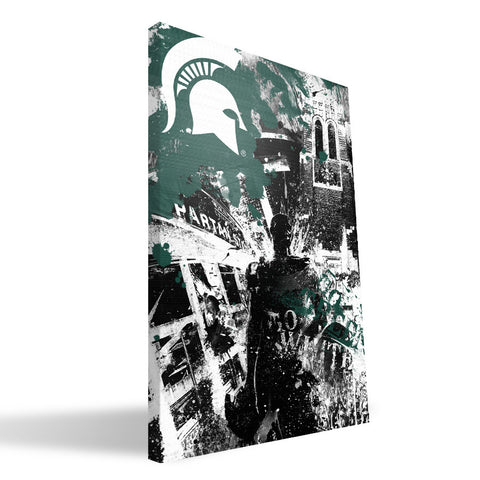 Michigan State Spartans Spirit Canvas Print