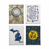 Michigan Wolverines Classics Magnet Set