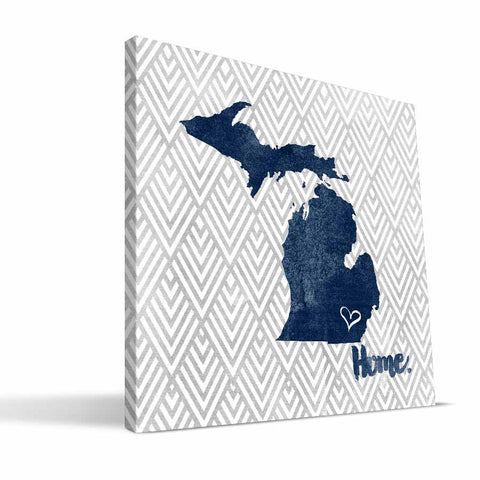 Michigan Wolverines Home Canvas Print