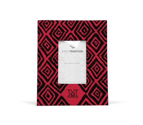 Miami University RedHawks Diamond Picture Frame