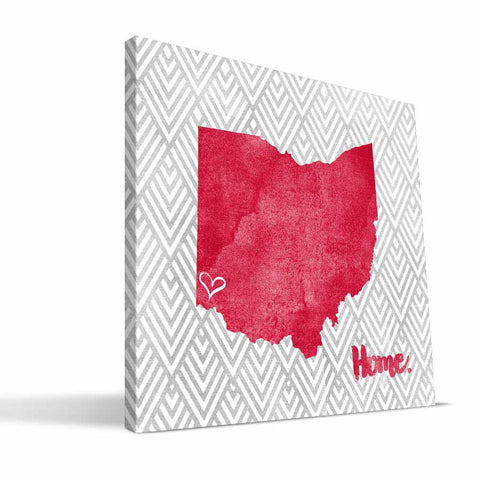 Miami University RedHawks Home Canvas Print