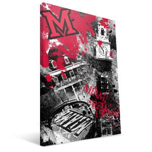 Miami University RedHawks Spirit Canvas Print
