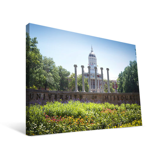 Missouri Tigers Campus Entry Canvas Print