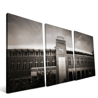 Missouri Tigers Faurot Field Canvas Print