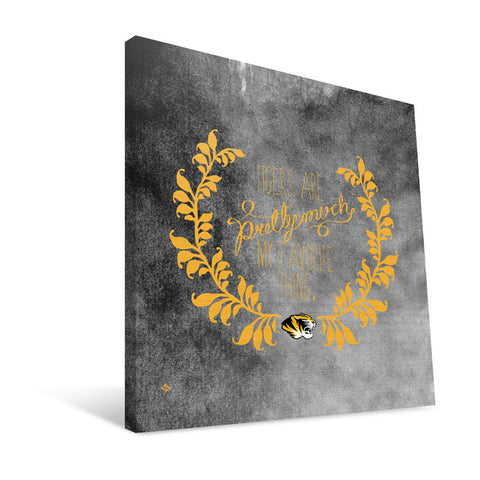 Missouri Tigers Favorite Thing Canvas Print