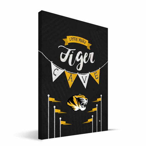 Missouri Tigers Little Man Canvas Print