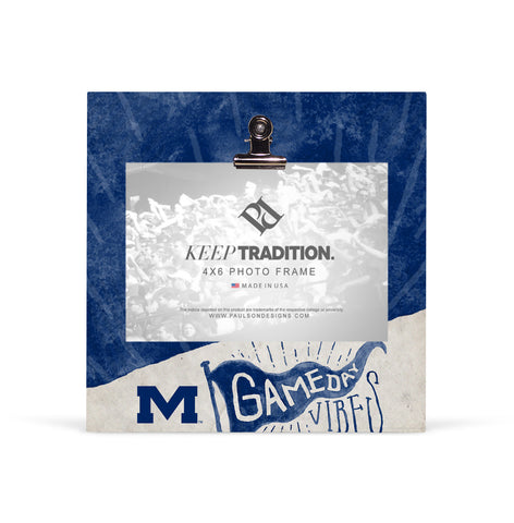 Ole Miss Rebels Gameday Vibes Picture Frame With Clip