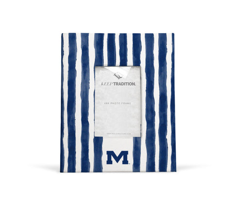 Ole Miss Rebels School Stripes Picture Frame