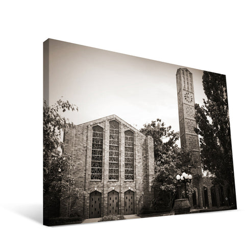 Mississippi State Bulldogs Chapel of Memories Canvas Print