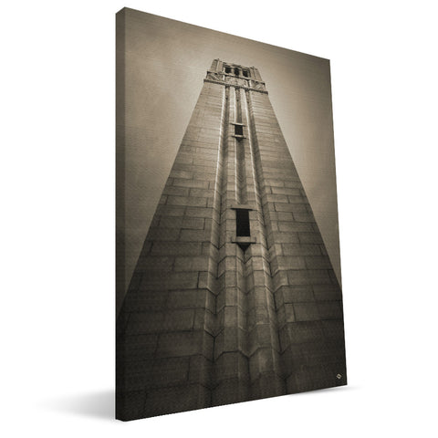 NC State Wolfpack  Memorial Tower Canvas Print