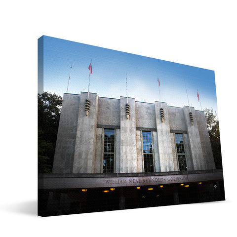 NC State Wolfpack  Reynolds Coliseum Canvas Print